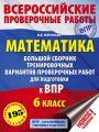 Математика. Большой сборник тренировочных вариантов проверочных работ для подготовки к ВПР. 6-й класс